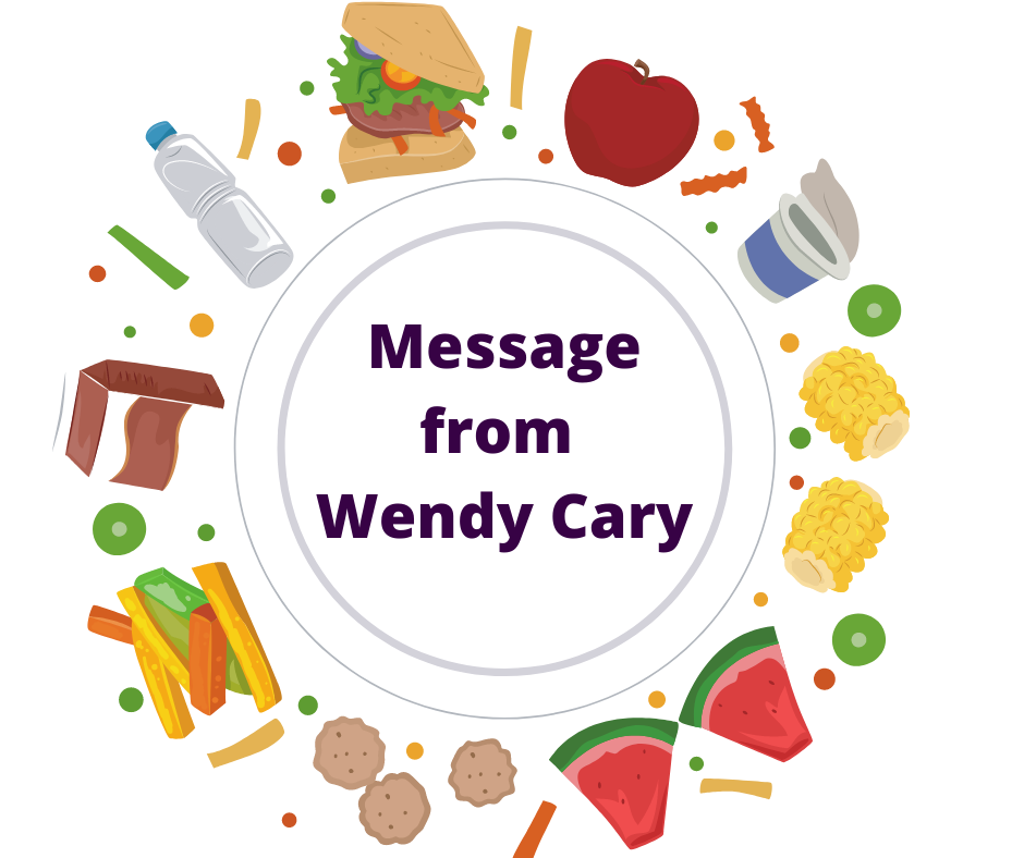 Message from Wendy Cary
